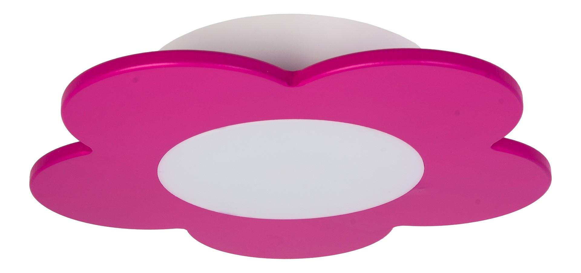 LED Deckenleuchte FIORE – pink