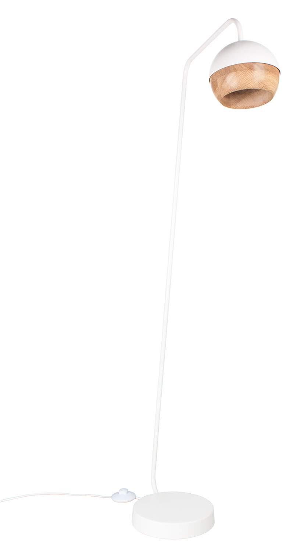 Weiße Stehlampe