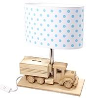Tischlampe für Kinder LKW-Spardose