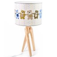 Tischlampe für Kinder  -  TRIVET (natur/Teddy)