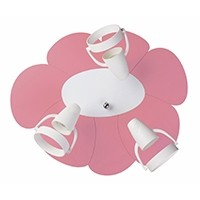 Kinder Deckenlampe BLUME (rosa)