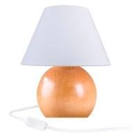 Tischlampe KUGEL - Buche