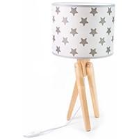 Tischlampe für Kinder  -  TRIVET (natur/Sterne)