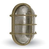 Lampa OVAL A25, mosiądz,16x26cm