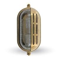 Lampa OVAL, mosiądz, 10x22cm