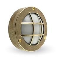 Lampa OCZKO A67 mosiężna, 14cm